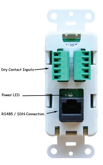 Somfy Sdn Decoflex Digital Keypad 8-button Ivory