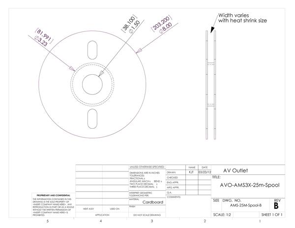 Ams3x 9 5 Lay Flat Printable 3 1 Heat Shrink Tubing 9 5mm 3 8