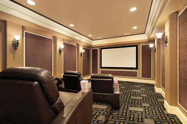 Admitone Patterned Home Theater Carpet