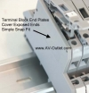 Altech EPDDFL4U Double Terminal Block End Plate