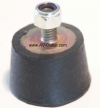 Vibration Isolators VI-43 with Threaded Stud