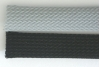 "TechFlex CCP0.50 Clean Cut, Non-Fray Braided Sleeve - 1/2"" Gray or Black"
